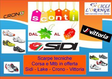 Scarpe corsa e mtb Sidi – Lake – Crono -Vittoria in offerta 49286695940